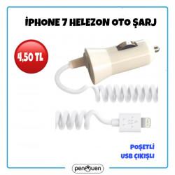 İPHONE 7 HELEZON OTO ŞARJ