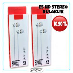 E5 HD STEREO KULAKLIK
