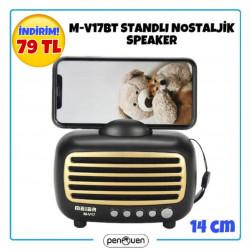 M-V17BT STANDLI NOSTALJİK WİRELESS SPEAKER
