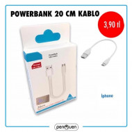 POWERBANK 20 CM KABLO