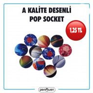 A KALİTE DESENLİ POP SOCKET