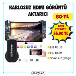 KABLOSUZ HDMI M9 PLUS GÖRÜNTÜ AKTARICI KAMPANYASI