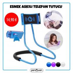 ESNEK ASKILI TELEFON TUTUCU