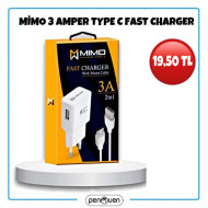 MİMO TYPE C 3 AMPER FAST CHARGER