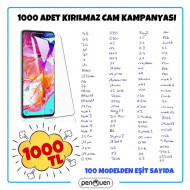 1000 ADET KIRILMAZ CAM KAMPANYASI
