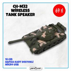 CH-M32 WİRELESS TANK SPEAKER