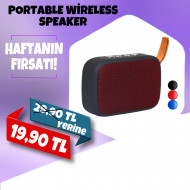 PORTABLE WİRELESS SPEAKER
