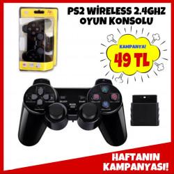 PS2 WİRELESS 2.4GHZ OYUN KONSOLU