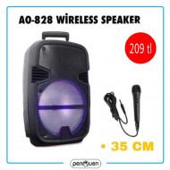 AO-828 WİRELESS SPEAKER