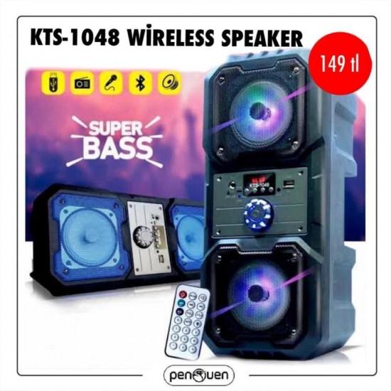 KTS-1048 WİRELESS SPEAKER