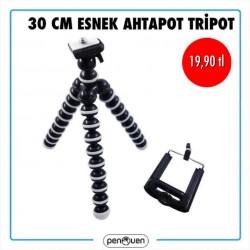 30 CM ESNEK AHTAPOT TRİPOT