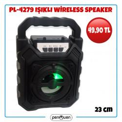 PL-4279 IŞIKLI WİRELESS SPEAKER