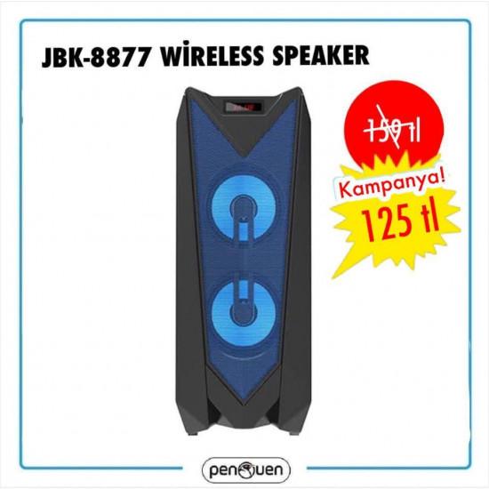 JBK-8877 WİRELESS SPEAKER