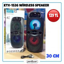 KTX-1526 WİRELESS SPEAKER