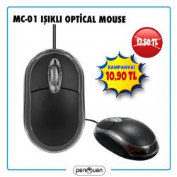 MC-01 IŞIKLI OPTİCAL MOUSE