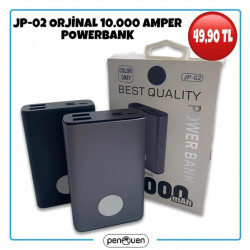 JP-02 ORJİNAL 10000 AMPER POWERBANK