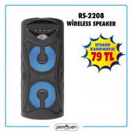 RS-2208 WİRELESS SPEAKER