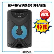 RS-418 WİRELESS SPEAKER