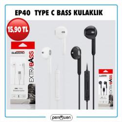 EP40 TYPE C BASS KULAKLIK
