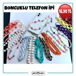 BONCUKLU TELEFON İPİ