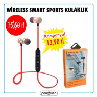 WİRELESS SMART SPORT KULAKLIK