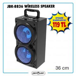 JBK 8836 WİRELESS SPEAKER