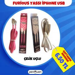 FURİOUS YASSI İPHONE USB