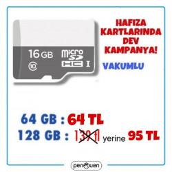 HAFIZA KARTLARINDA DEV KAMPANYA 128 GB