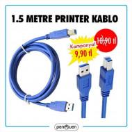 1.5 METRE PRİNTER USB
