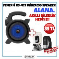 RS-427 SPEAKER ALANA AKILLI BİLEKLİK HEDİYE!!