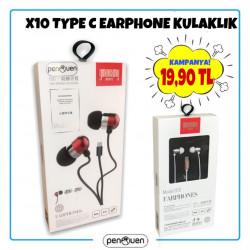 X10 TYPE C EARPHONE KULAKLIK