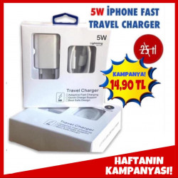 5W İPHONE FAST TRAVEL CHARGER