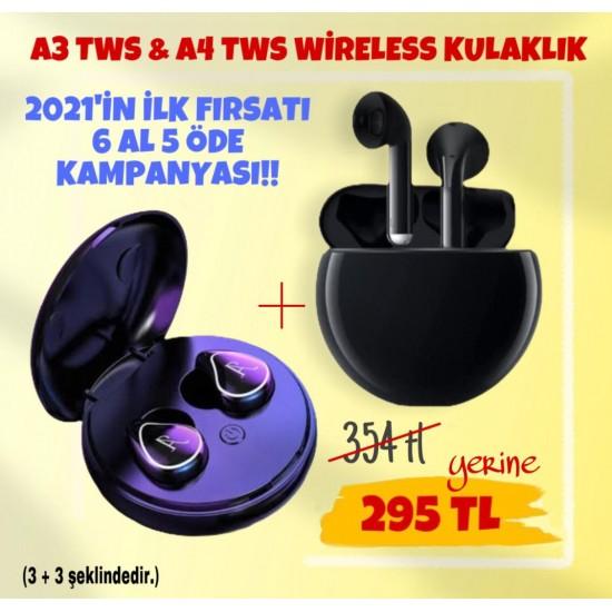 A3 TWS-A4 TWS 6 AL 5 ÖDE KAMPANYASI!!