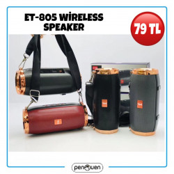 ET-805 WİRELESS SPEAKER