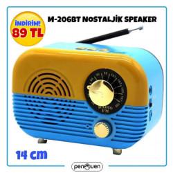 M-206BT NOSTALJİK SPEAKER