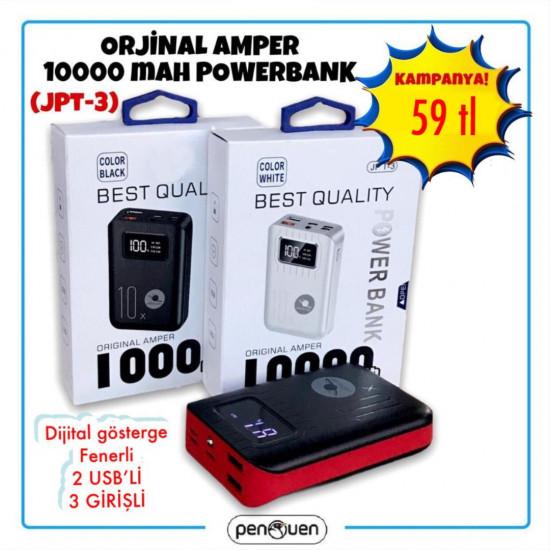 JPT-3 ORJİNAL 10000 AMPER POWERBANK