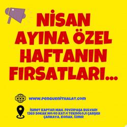 NİSAN AYINA ÖZEL HAFTANIN FIRSATLARI..
