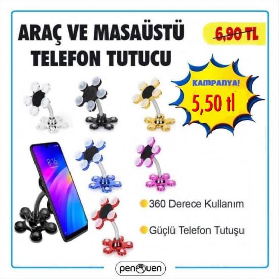 ARAÇ VE MASAÜSTÜ TELEFON TUTUCU