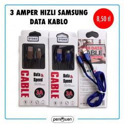 3 AMPER HIZLI SAMSUNG DATA CABLE