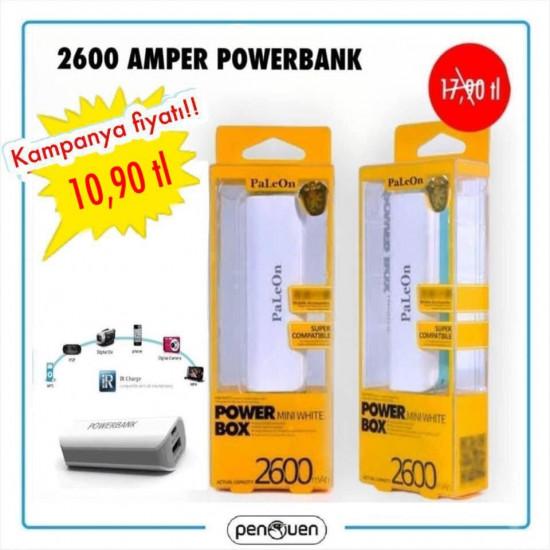 2600 AMPER POWERBANK