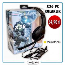 X36 PC KULAKLIK