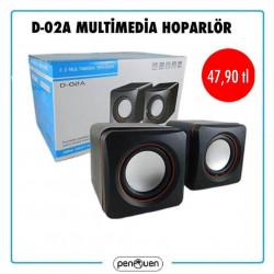 D-02A MULTİMEDİA HOPARLÖR