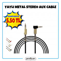 YAYLI METAL STEREO AUX CABLE