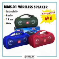 MMS-01 WİRELESS SPEAKER