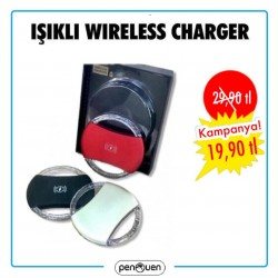 IŞIKLI WİRELESS CHARGER