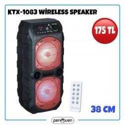 KTX-1083 WİRELESS SPEAKER