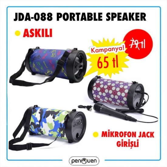 JDA-088 WİRELESS SPEAKER