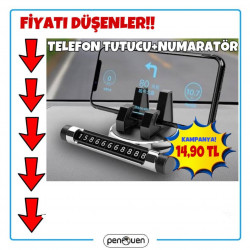 TELEFON TUTUCU+NUMARATÖR
