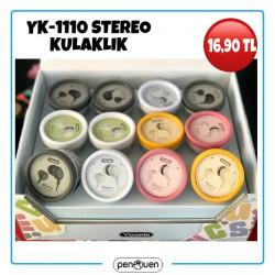 YK-1110 STEREO STEREO KULAKLIK