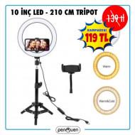 10 İNÇ LED-210 CM TRİPOD